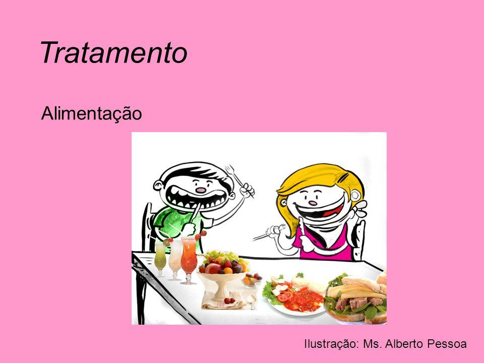 Tratamento Alimentação Ilustração: Ms. Alberto Pessoa