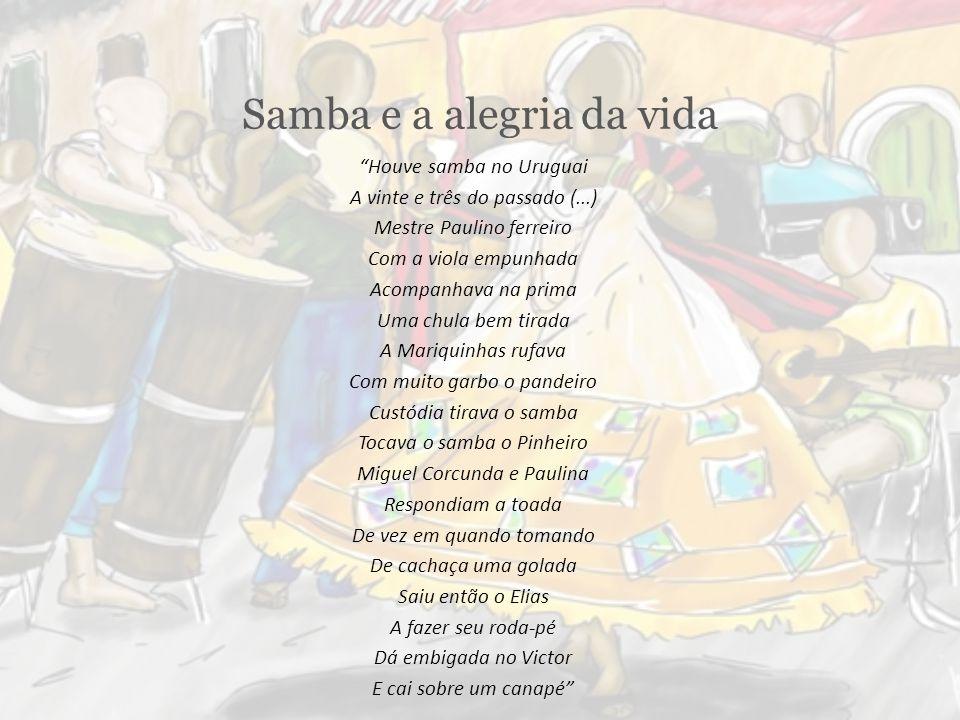 Samba e a alegria da vida