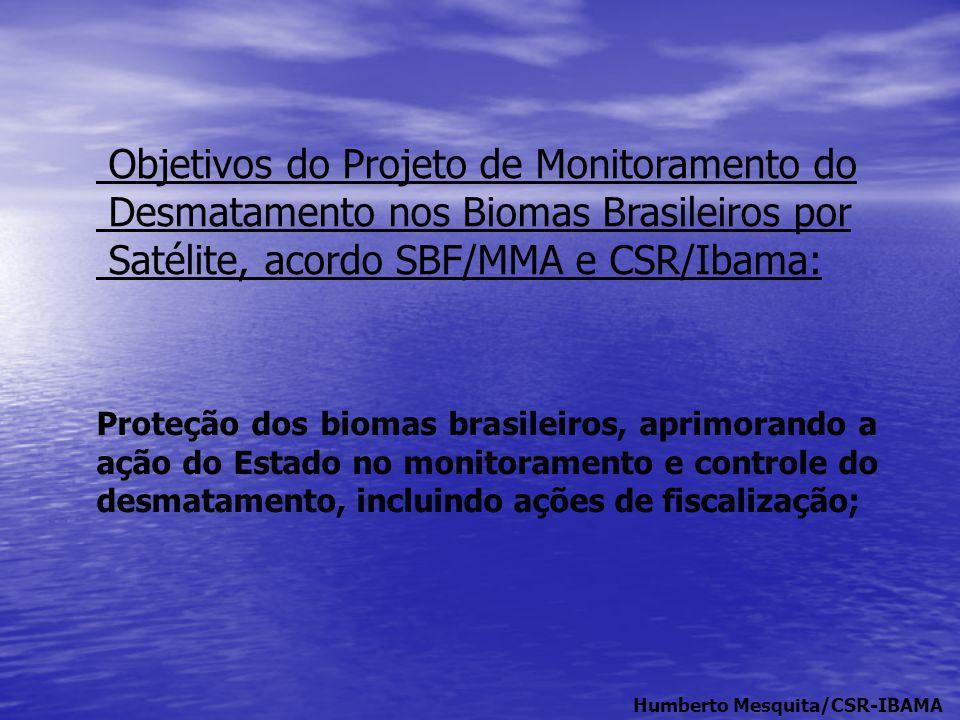 Objetivos do Projeto de Monitoramento do