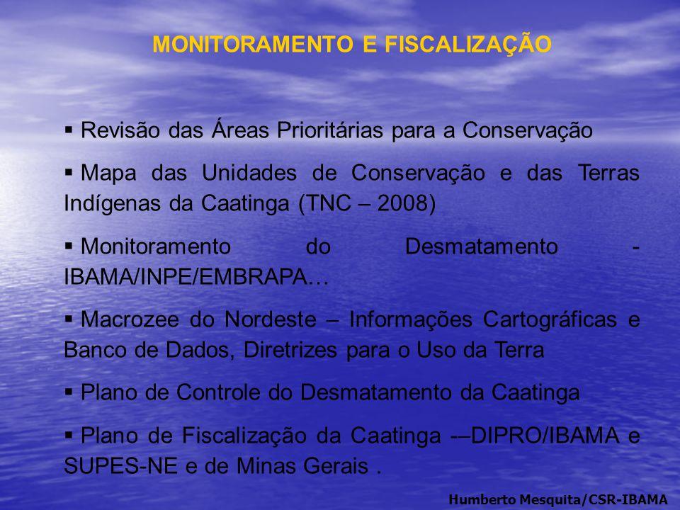 MONITORAMENTO E FISCALIZAÇÃO