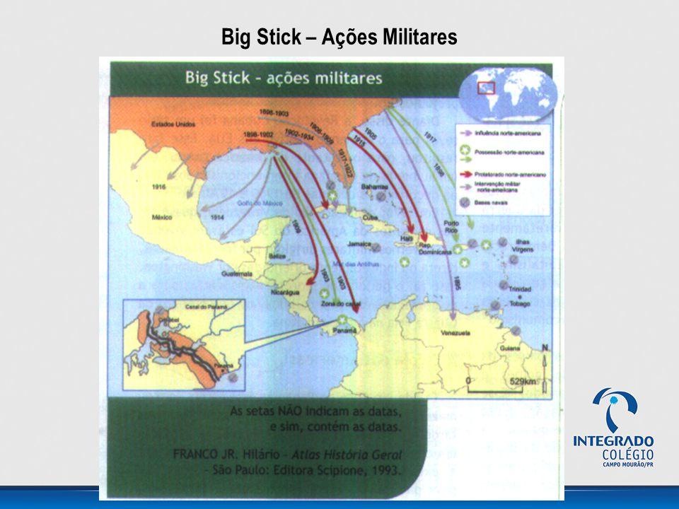 Big Stick – Ações Militares