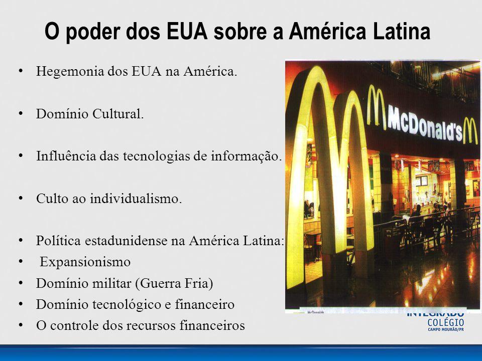 O poder dos EUA sobre a América Latina