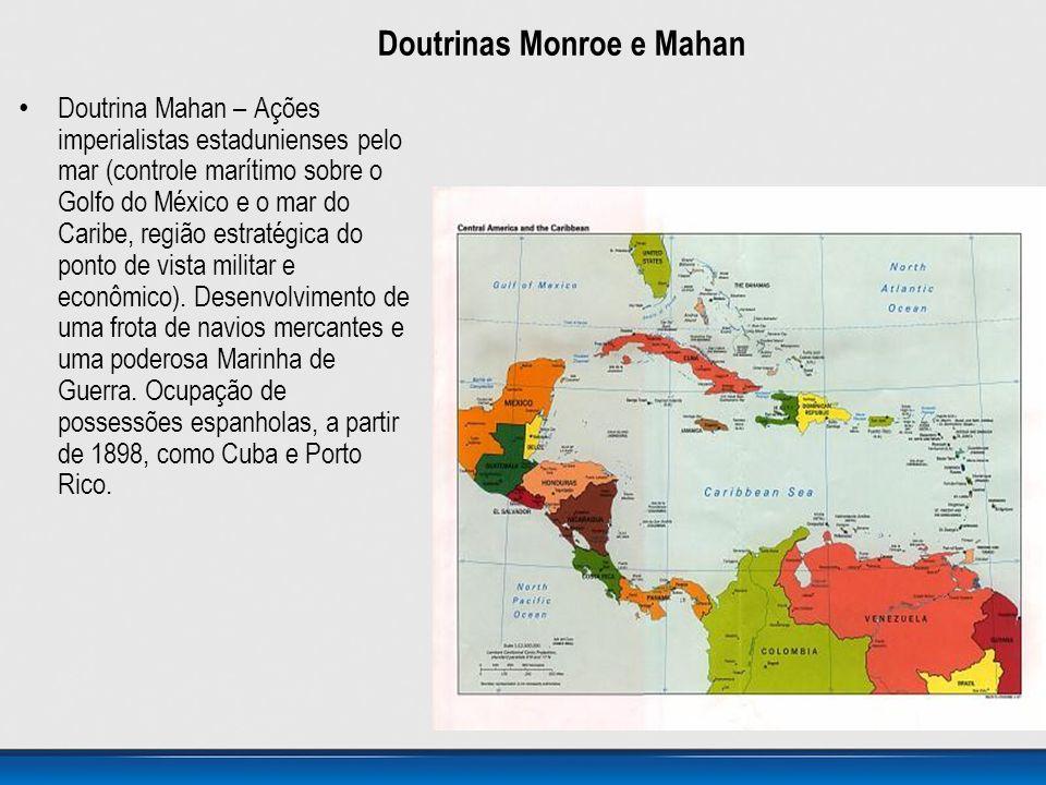 Doutrinas Monroe e Mahan