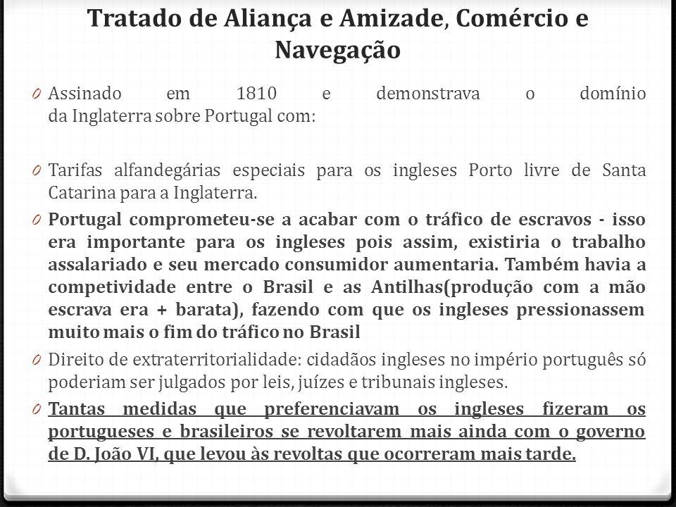 Tratado de Aliança e Amizade, Comércio e Navegação