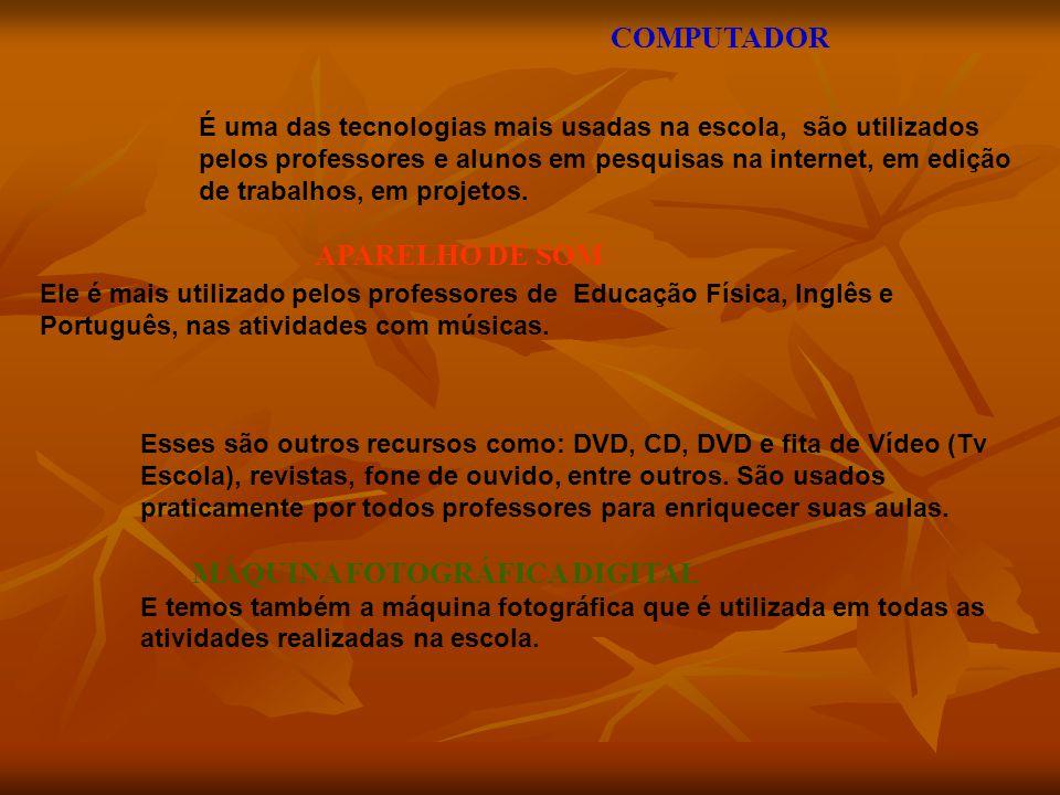 COMPUTADOR APARELHO DE SOM