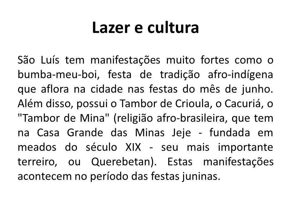 Lazer e cultura
