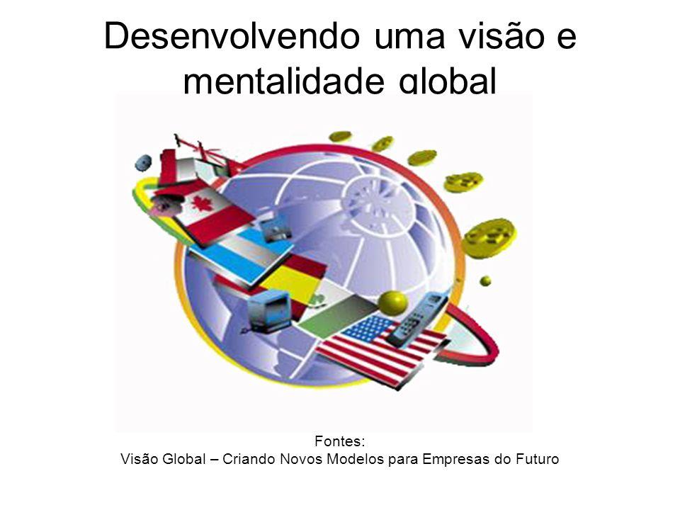 Desenvolvendo uma visão e mentalidade global