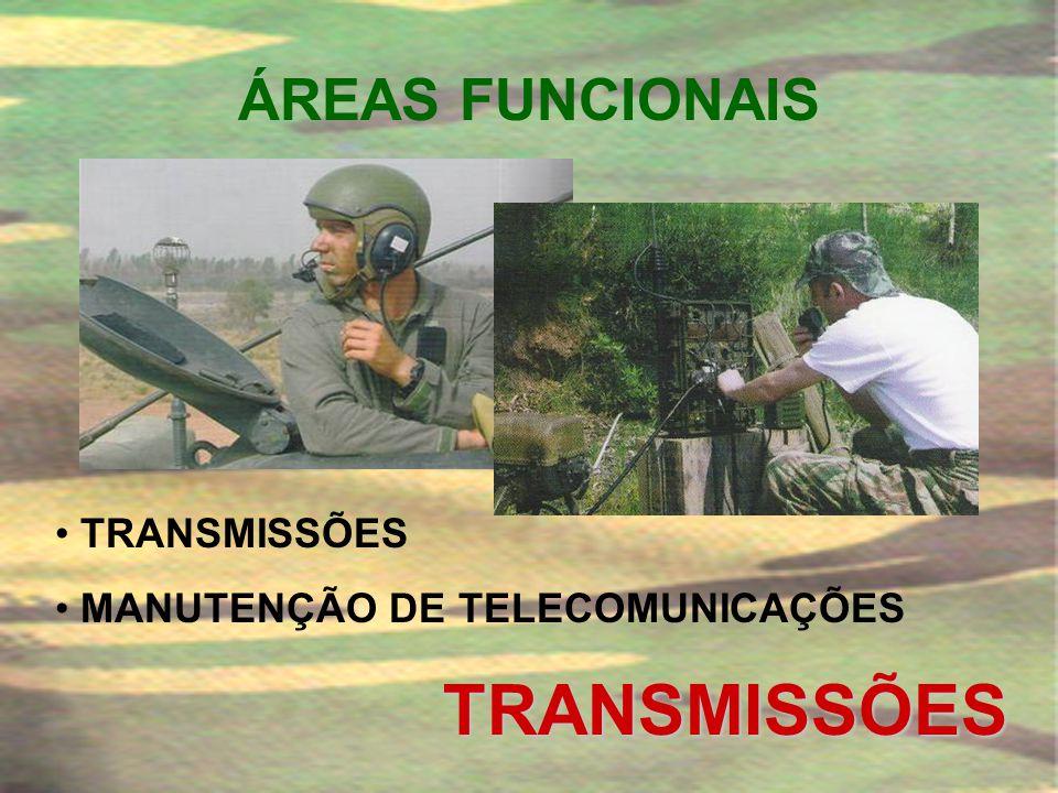 TRANSMISSÕES ÁREAS FUNCIONAIS TRANSMISSÕES
