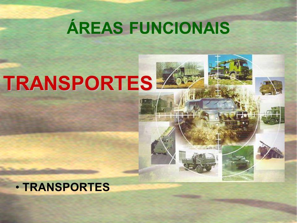 ÁREAS FUNCIONAIS TRANSPORTES TRANSPORTES