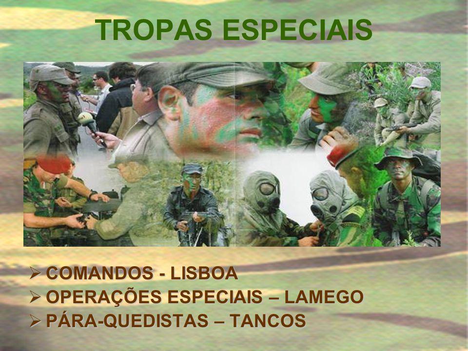 TROPAS ESPECIAIS COMANDOS - LISBOA OPERAÇÕES ESPECIAIS – LAMEGO