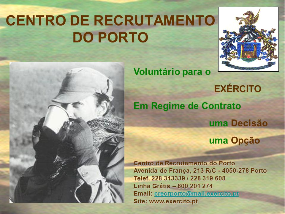 CENTRO DE RECRUTAMENTO DO PORTO