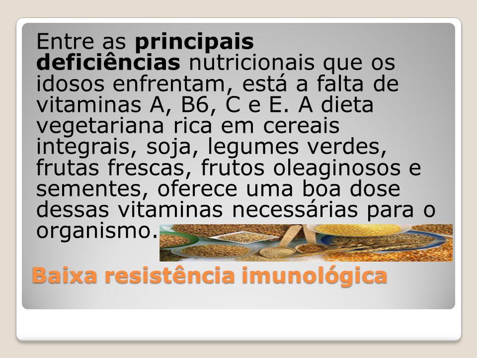 Baixa resistência imunológica