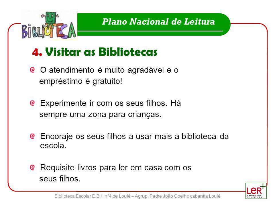 4. Visitar as Bibliotecas