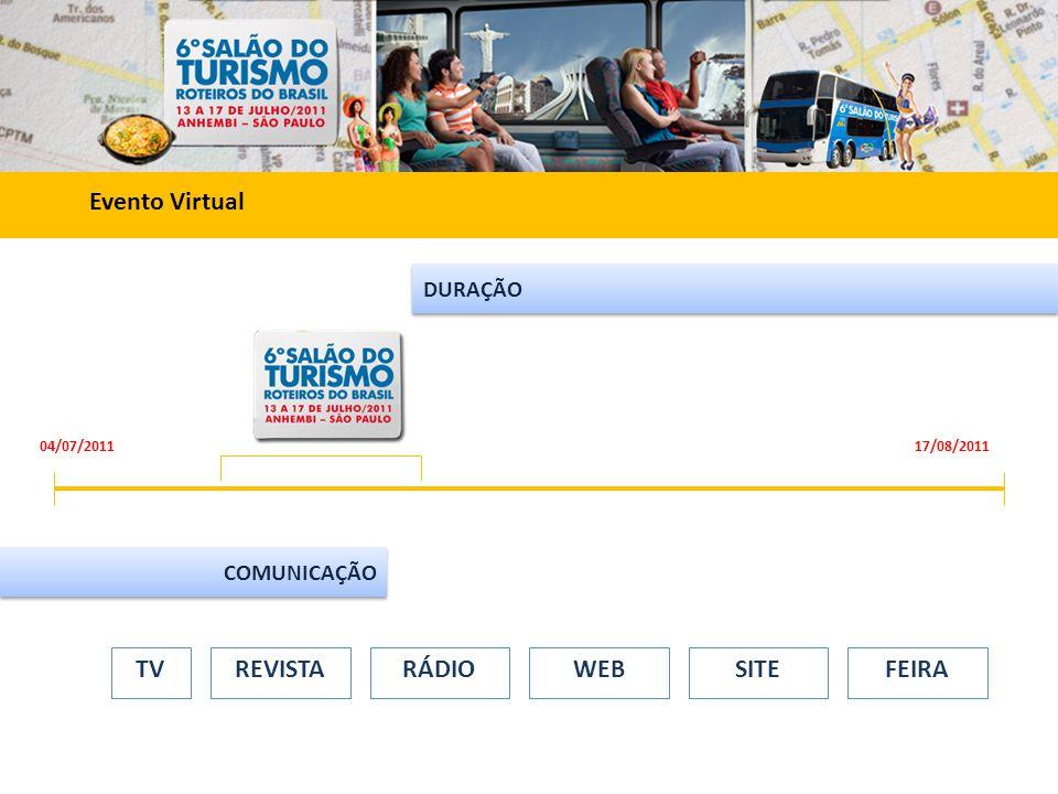 REVISTA TV RÁDIO WEB SITE FEIRA