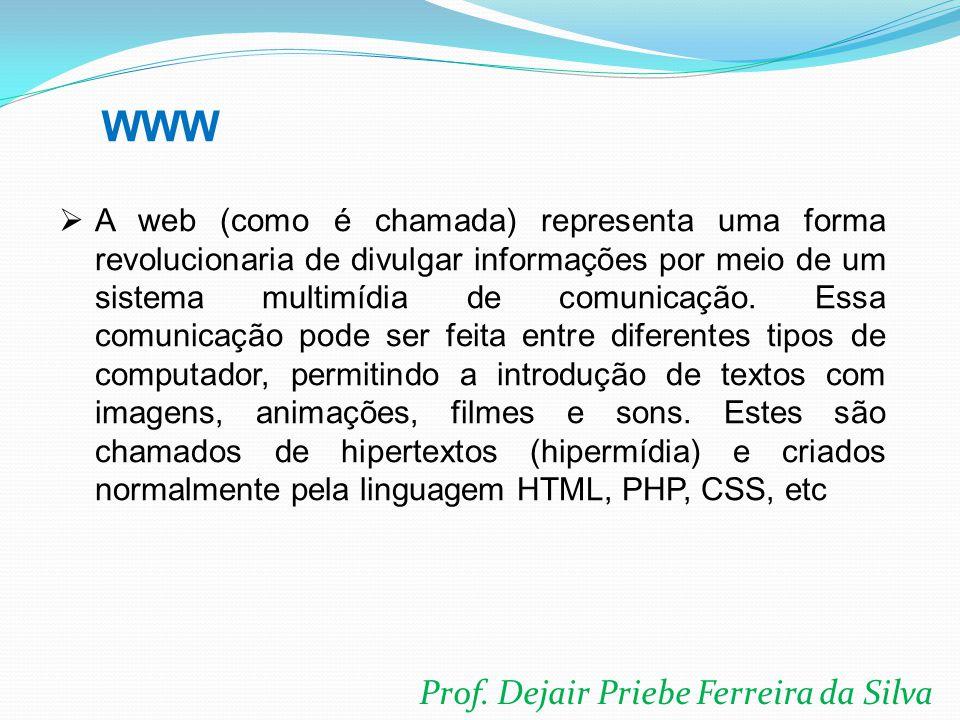 WWW Prof. Dejair Priebe Ferreira da Silva