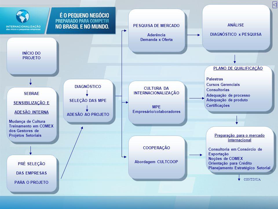 DIAGNÓSTICO x PESQUISA PESQUISA DE MERCADO Aderência Demanda x Oferta