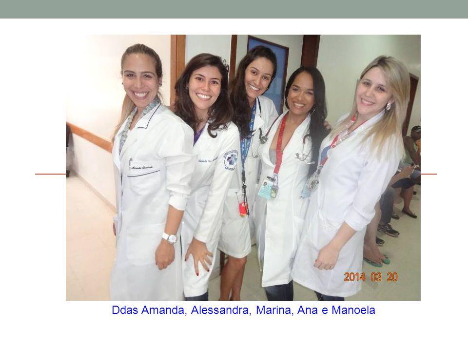 Ddas Amanda, Alessandra, Marina, Ana e Manoela