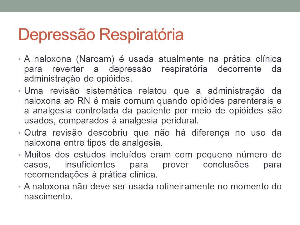 Depressão Respiratória