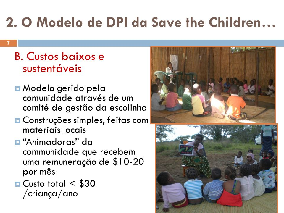 2. O Modelo de DPI da Save the Children…
