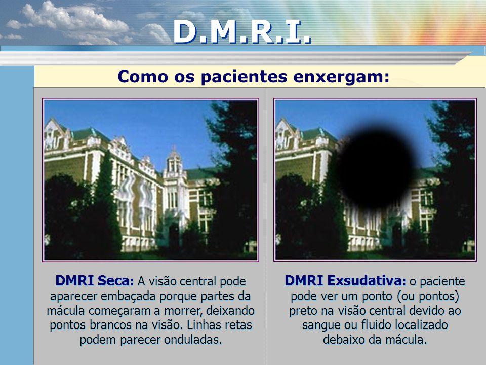 D.M.R.I. Como os pacientes enxergam: