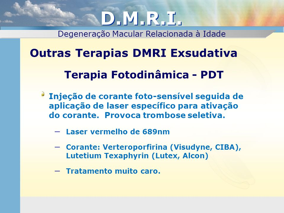 Terapia Fotodinâmica - PDT