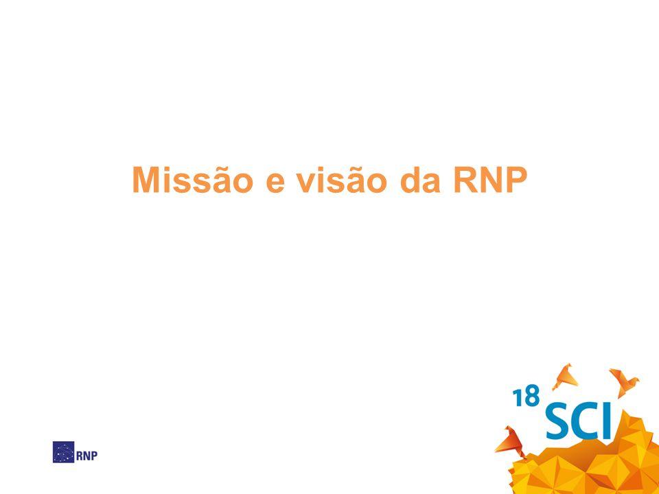 Missão e visão da RNP