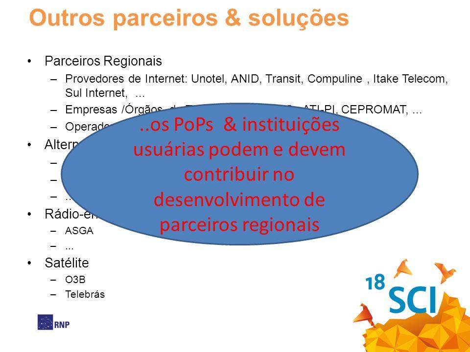Outros parceiros & soluções
