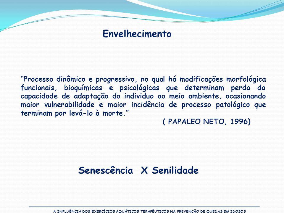 Senescência X Senilidade
