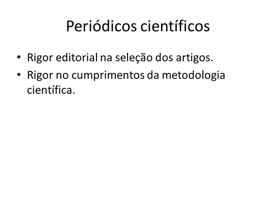 Periódicos científicos