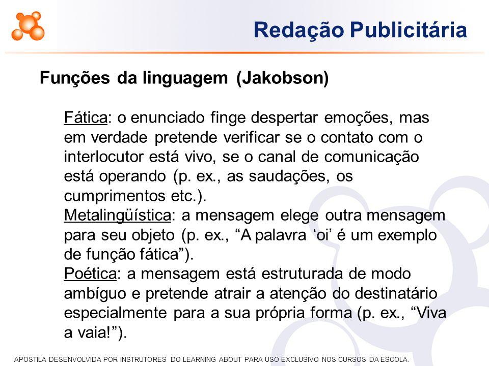 Funções da linguagem (Jakobson)