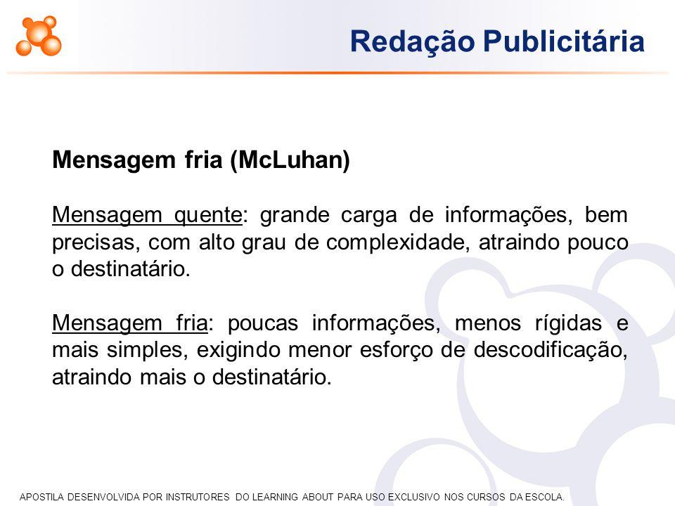 Mensagem fria (McLuhan)