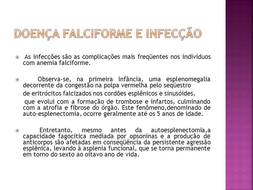 Doença falciforme e infecção