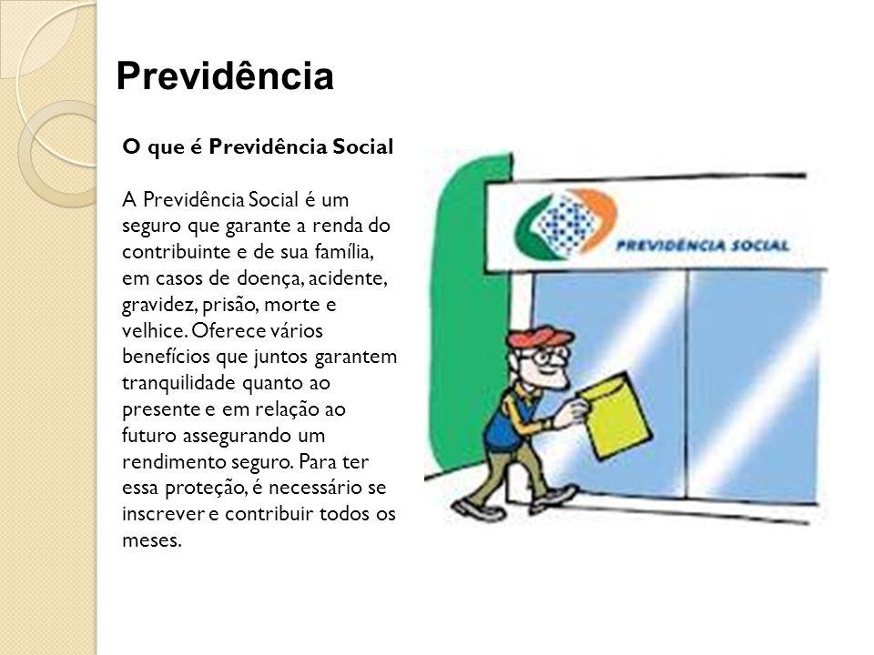 Previdência O que é Previdência Social
