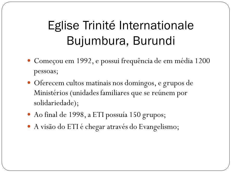 Eglise Trinité Internationale Bujumbura, Burundi