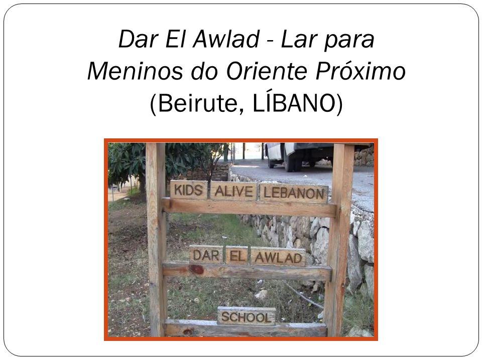 Dar El Awlad - Lar para Meninos do Oriente Próximo (Beirute, LÍBANO)