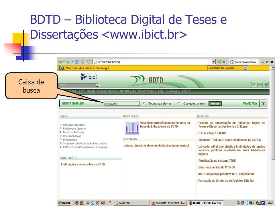 BDTD – Biblioteca Digital de Teses e Dissertações <www.ibict.br>