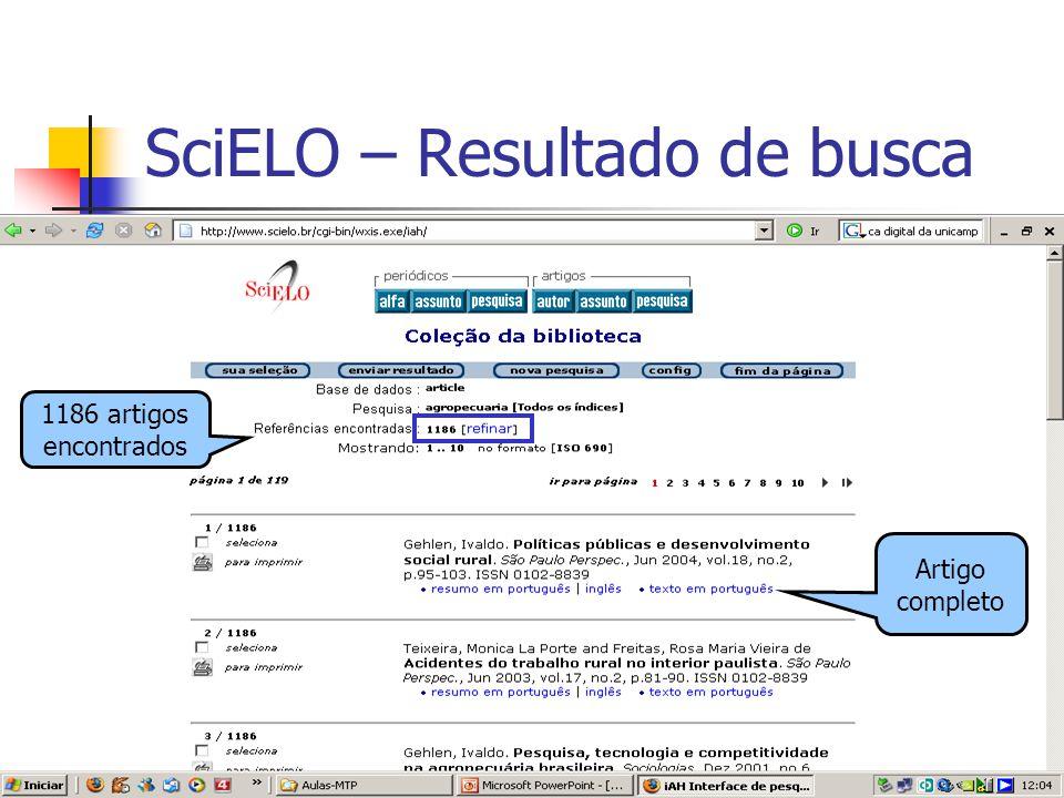 SciELO – Resultado de busca