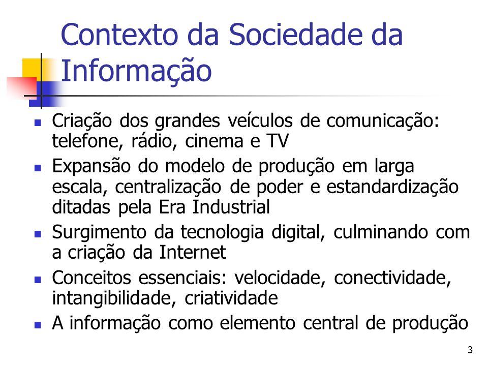 Contexto da Sociedade da Informação