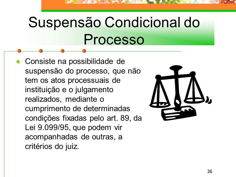 Suspensão Condicional do Processo