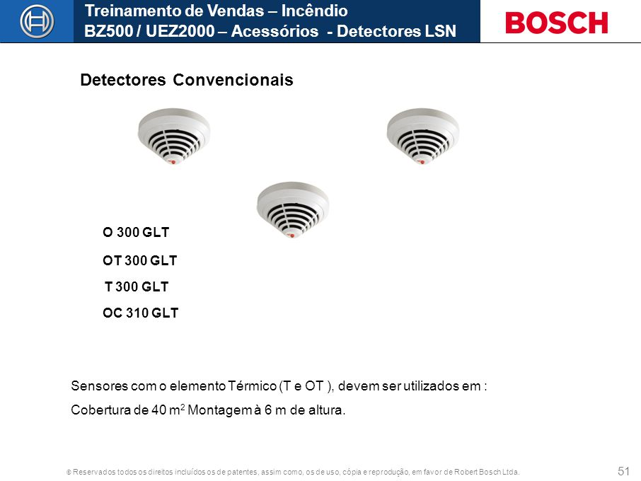Detectores Convencionais