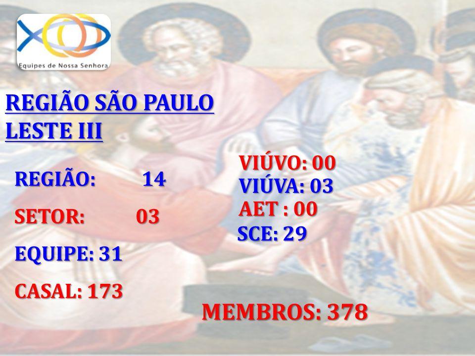 REGIÃO SÃO PAULO LESTE III