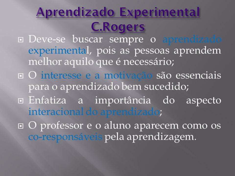 Aprendizado Experimental C.Rogers