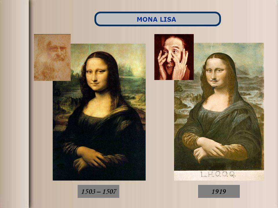 MONA LISA 1503 – 1507 1919
