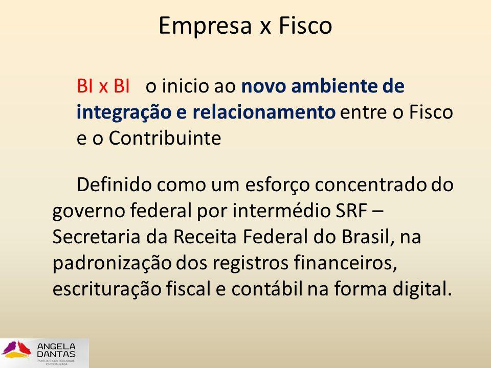 Empresa x Fisco