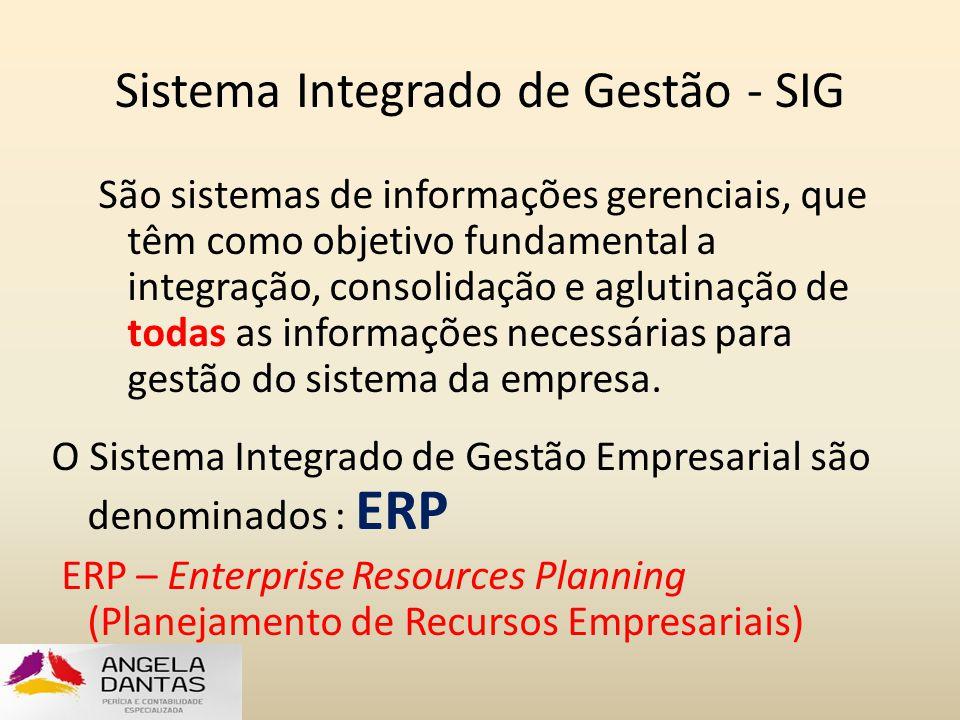 Sistema Integrado de Gestão - SIG