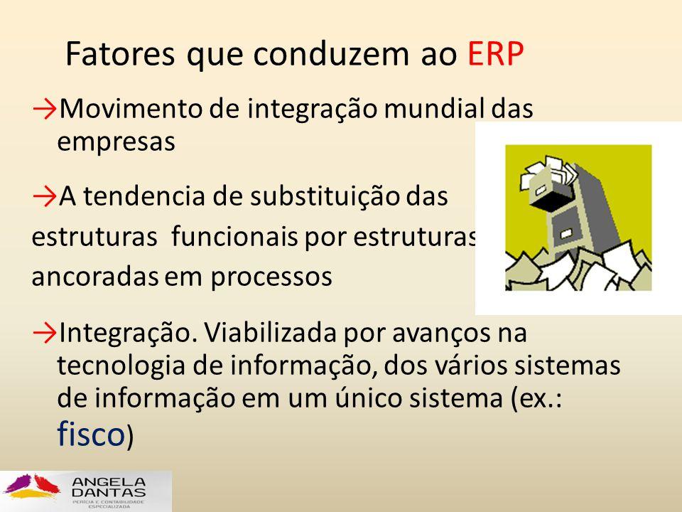 Fatores que conduzem ao ERP