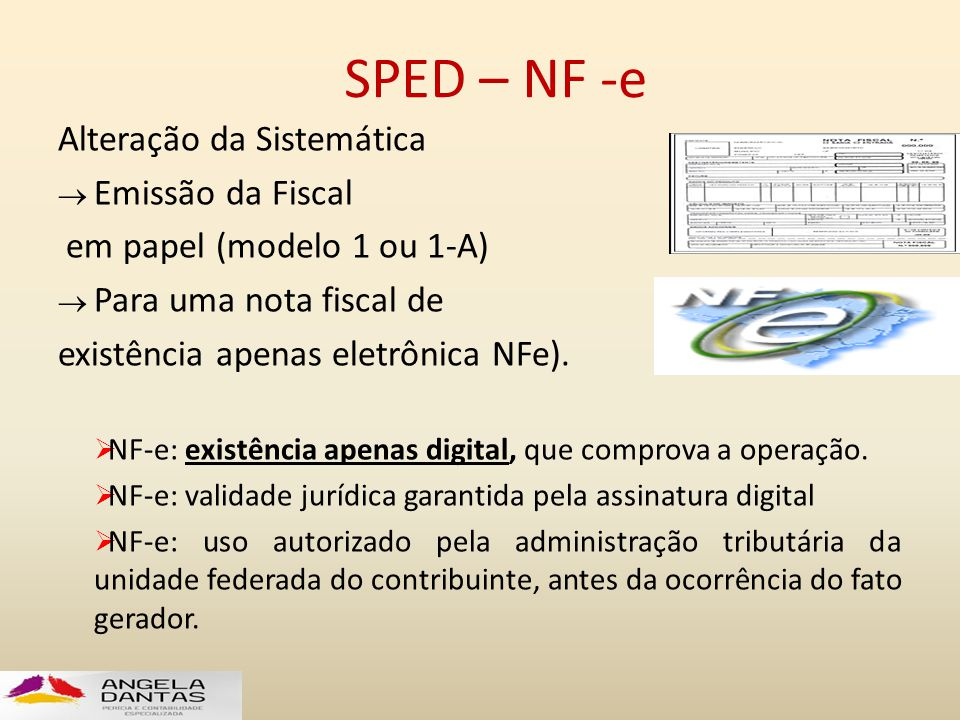 SPED – NF -e Alteração da Sistemática Emissão da Fiscal