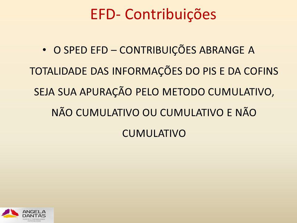 EFD- Contribuições