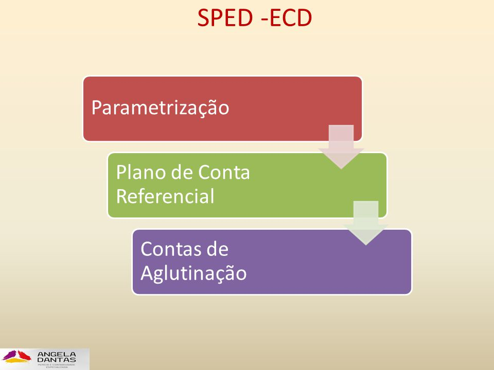 SPED -ECD Parametrização Plano de Conta Referencial