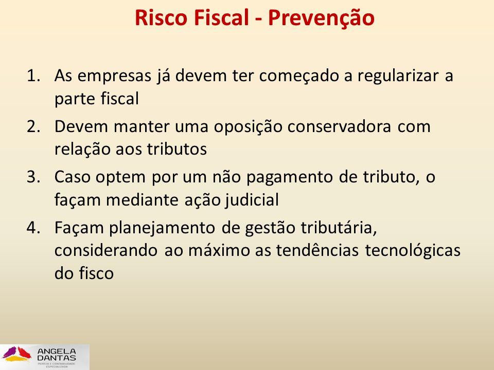 Risco Fiscal - Prevenção